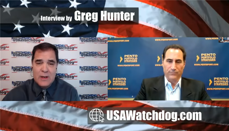 Michael Pento on USAWatchDog: Fed Policies Rocket Fuel for Gold and Silver